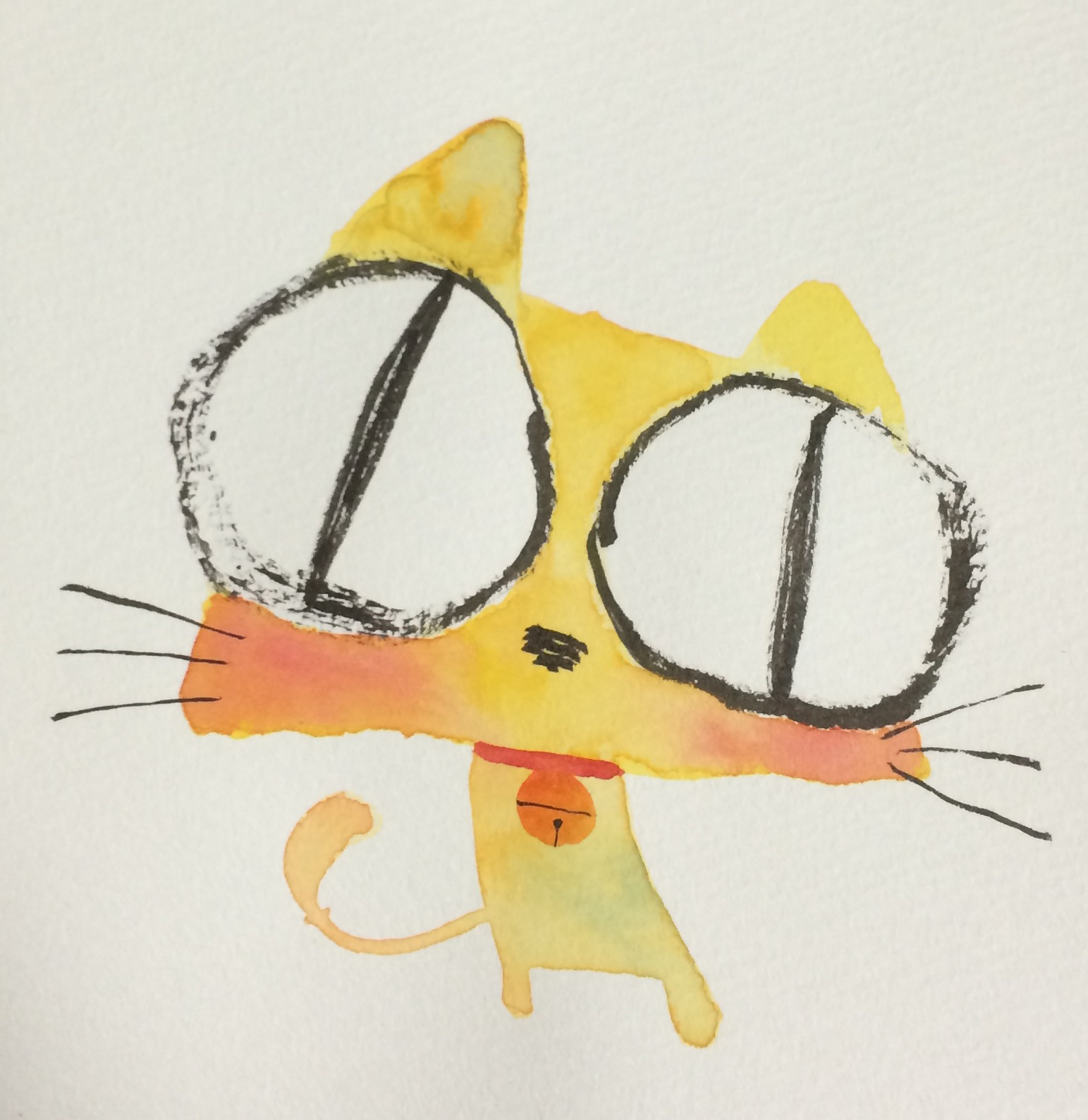 12月のカレンダー 猫のイラスト