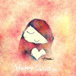バレンタインカード用 女の子のイラスト無料ダウンロード