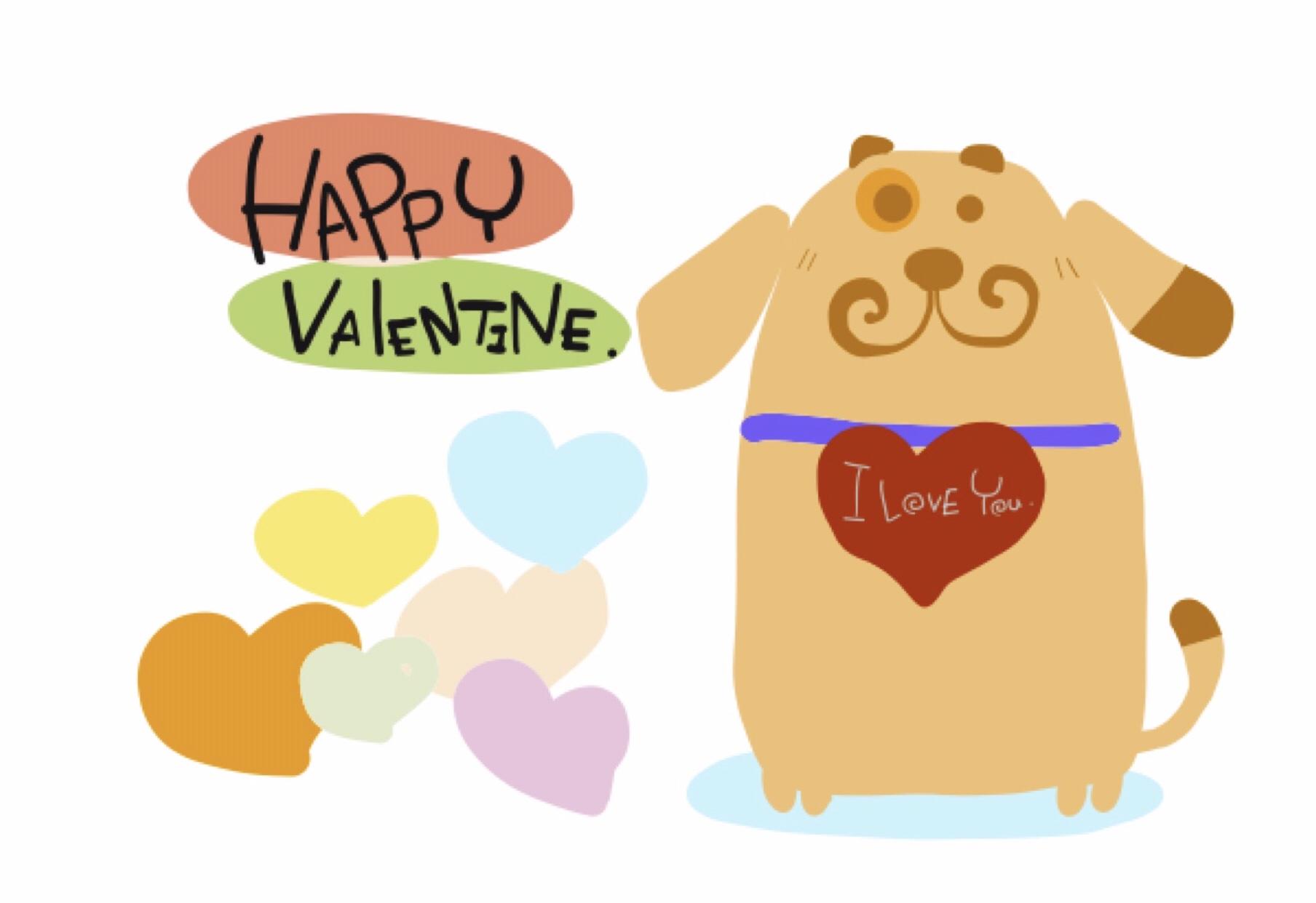 ハッピー バレンタイン デー Happy Valentine's